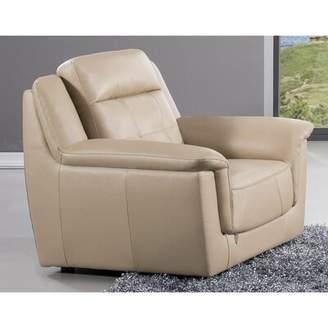 Latitude Run Gobert Leatherette Upholstered Armchair Latitude Run