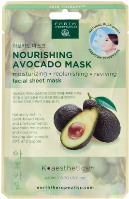 Earth Therapeutics Nourishing Avocado Face Mask