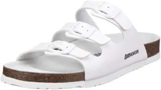 Dr. μ Dr. Brinkmann Womens 703171 Mules White Weiß (weiß) Size: (3.5 Damen UK)