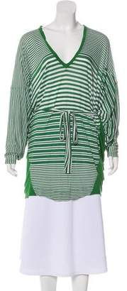 Stella McCartney Striped V-Neck Tunic