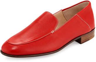 Gravati Flat Leather Smoking Loafer