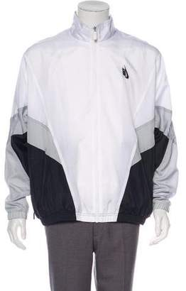 Nike Embroidered Windbreaker Jacket