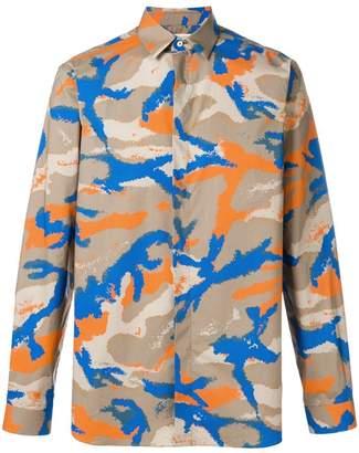 Valentino camouflage-print shirt