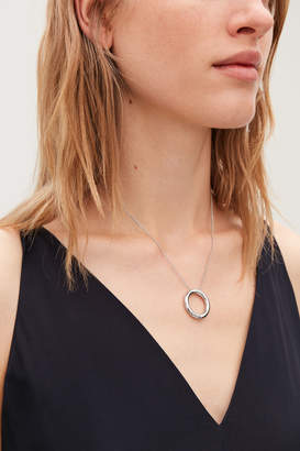 Cos O-RING PENDANT NECKLACE