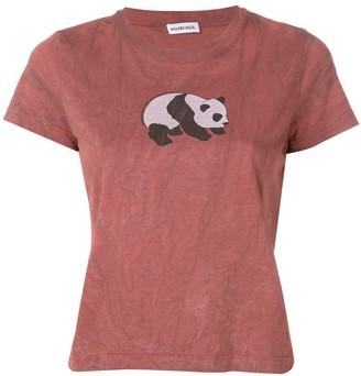 Balenciaga (バレンシアガ) - Balenciaga パンダ Tシャツ