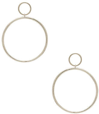 Vanessa Mooney Cadillac Earrings in Metallic Silver. $59 thestylecure.com