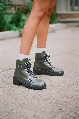 Faryl Robin Vegan Slate Lace-Up Boot
