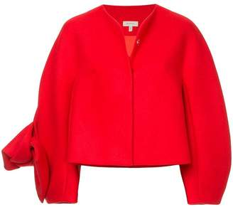 DELPOZO oversized bow detail jacket