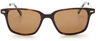 Ted Baker Men's Square Polarized Plastic Frame Sunglasses