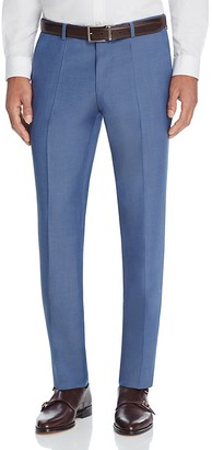 BOSS HUGO BOSS Solid Regular Fit Trousers $225 thestylecure.com