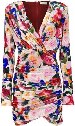 Ronny Kobo Marianna Velvet Mini Dress