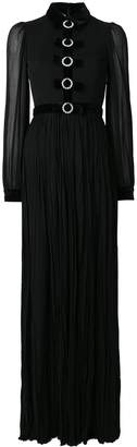 Gucci Bow embellished evening gown