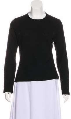 Dolce & Gabbana Long Sleeve Wool Sweater