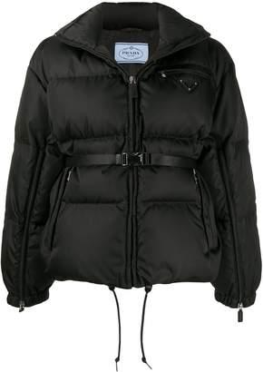 Prada quilted zip-up jacket