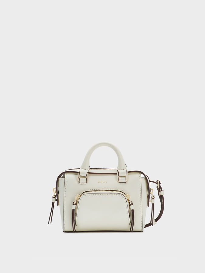 DKNY Smooth Leather Mini Satchel