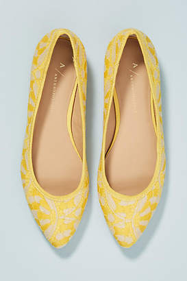 Anthropologie Lovely in Lace Ballet Flats
