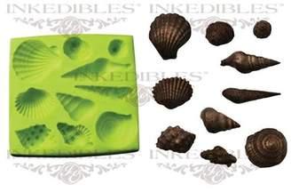 YummyInks Silicone Chocolate Mold, 3D Seashells