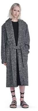 Alexander Wang Shawl Collared Belted Coat