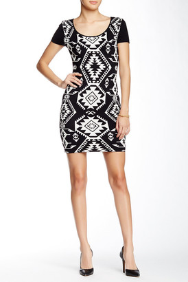 Papillon Scoop Neck Bodycon Sweater Dress $189 thestylecure.com