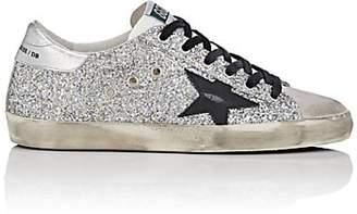 Golden Goose Women's Superstar Glitter Sneakers - Silver
