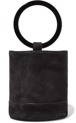 Simon Miller Bonsai 20 Nubuck Bucket Bag - Black