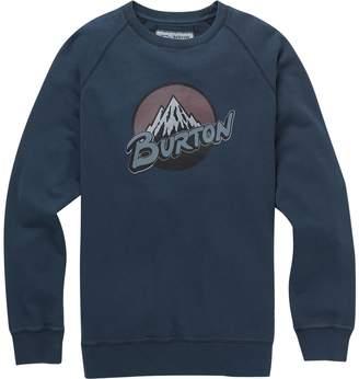 Burton Retro Mountain Organic Crew Sweatshirt - Men's