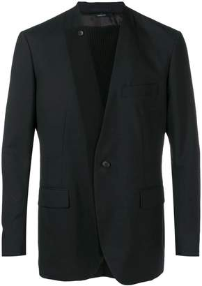 Issey Miyake pleated insert blazer
