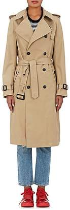 VIS A VIS Women's Cotton Belted Trench Coat