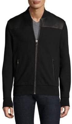 Michael Kors Zippered Stand Collar Jacket