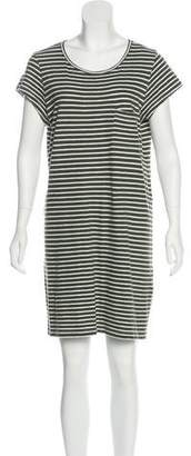 Joie Striped Mini Dress