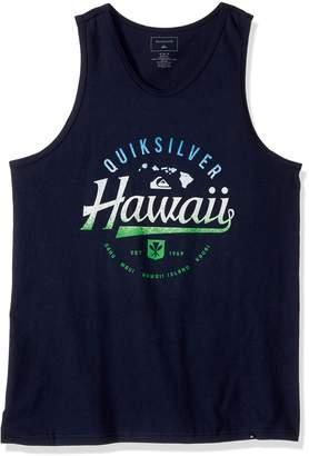 Quiksilver Young Men's Da Islands Tank T-Shirt