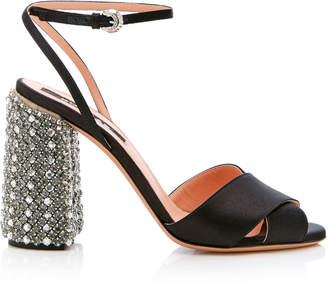 Rochas Crystal Heel Sandal