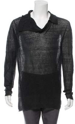 Ann Demeulemeester Lightweight Cashmere-Blend Sweater