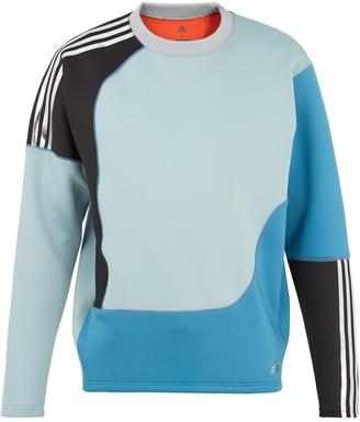 Spacer colour-block neoprene sweatshirt