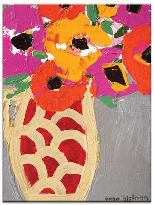 Artist Lane Elegant Vase Canvas Print