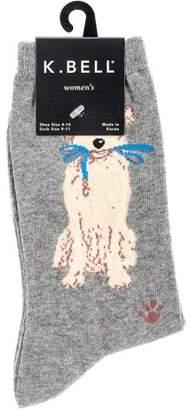 K. Bell Novelty Pet Socks Dog Walk