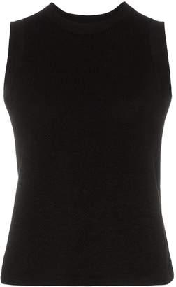 Carcel Tuck sleeveless alpaca wool T-shirt