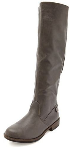 Charlotte Russe Knee-High Flat Riding Boot