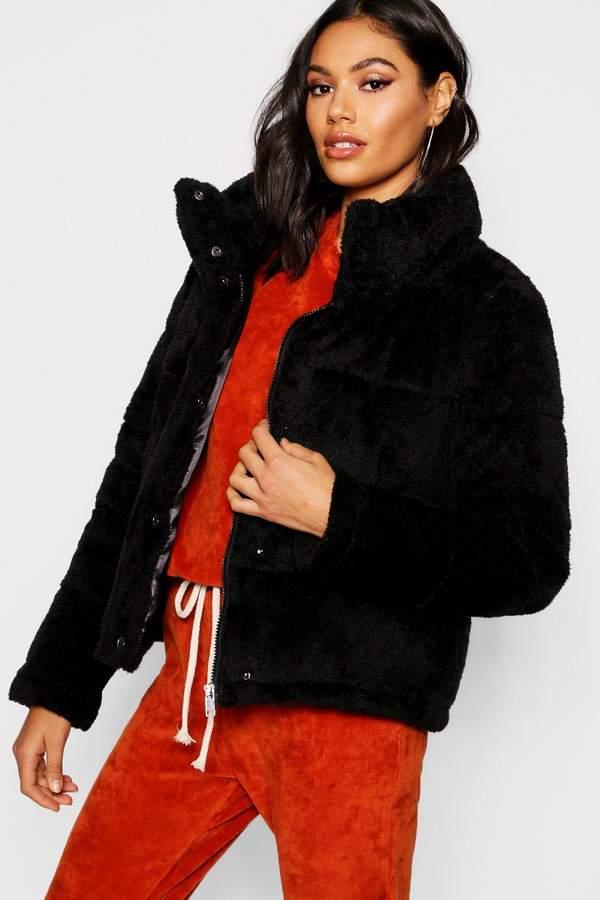 Teddy Faux Fur Padded Jacket