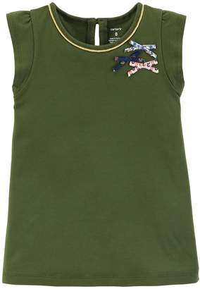 Carter's Girls 4-12 Bow Tee