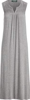 Ralph Lauren Smocked Stretch Nightgown