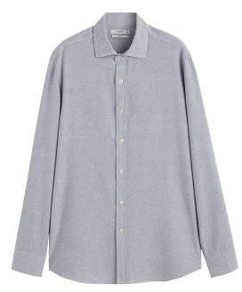 Mango Man MANGO MAN Slim-fit structured cotton shirt