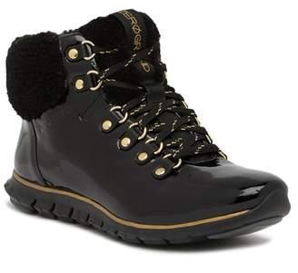 Cole Haan Zerogrand Genuine Shearling Waterproof Hiker Boot