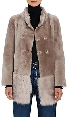 Barneys New York Women's Fur Coat