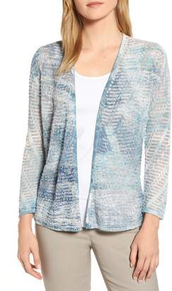 Nic+Zoe Sea Map Cardigan
