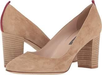 Sarah Jessica Parker Women's Prosper Almond Toe Block Heel Pump