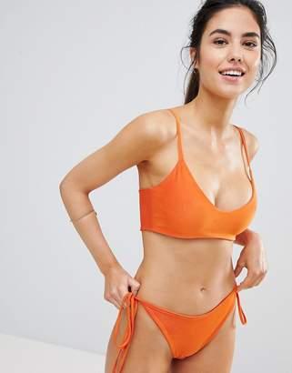 PrettyLittleThing Cami Bikini Top