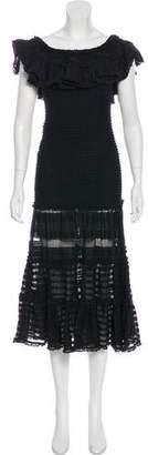 Jonathan Simkhai Tricot Lace Dress w/ Tags