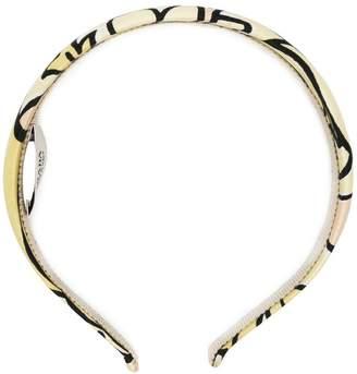 Prada printed hairband