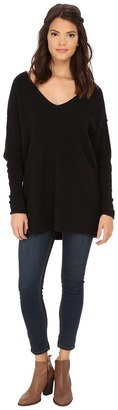 Free People Softly Vee Sweater $118 thestylecure.com